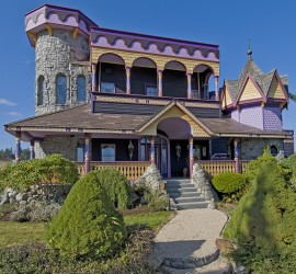 Troll Haven Sequim Wedding Events Ceremony Gate Keeper's Castle