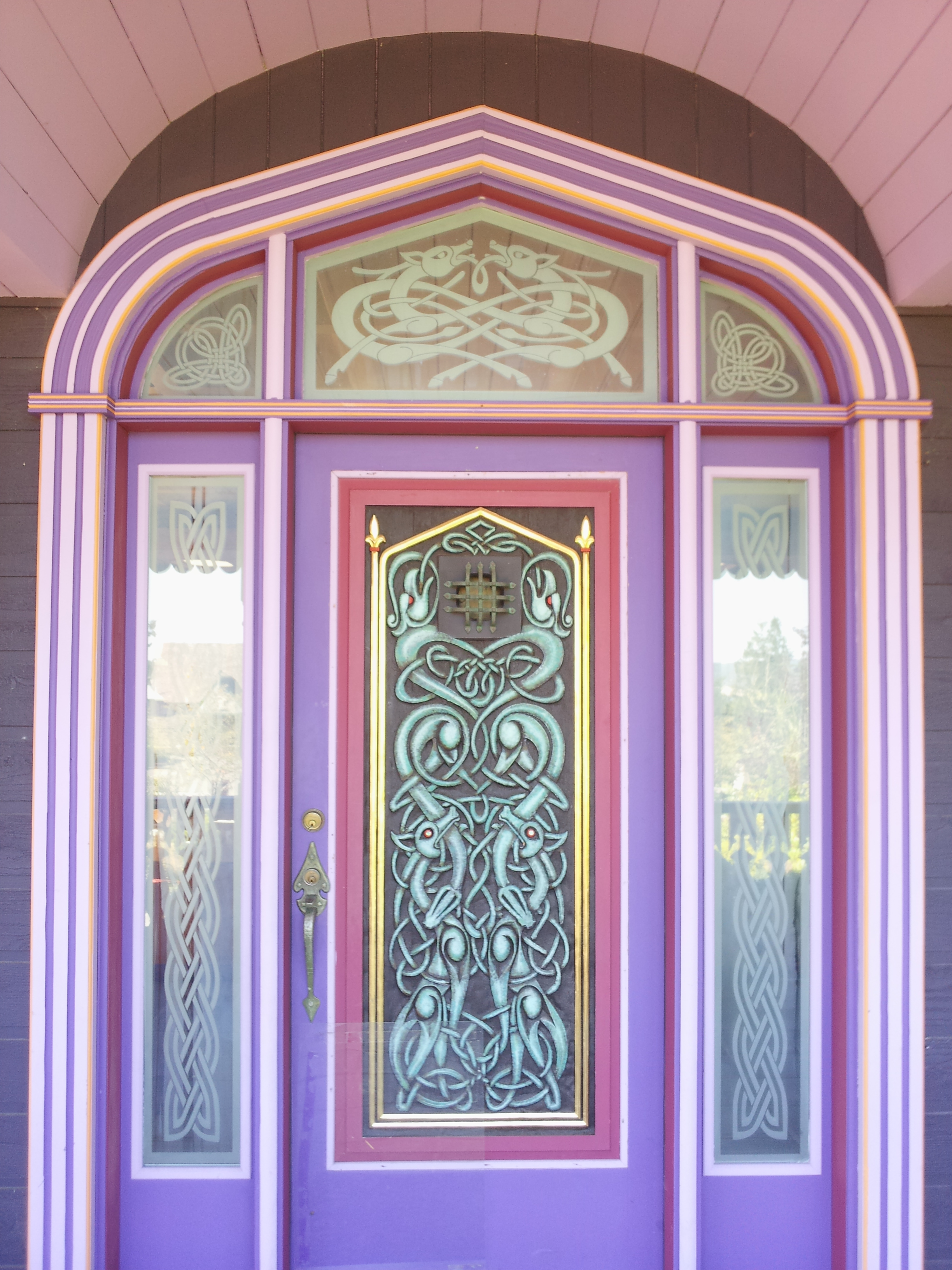 The Gate Keepers Castle Vacation Rental Front Door